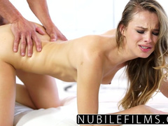 Adorable chick with skinny hot body enjoys hardcore fuck