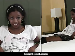Chocolate teen's introduction in adult industry